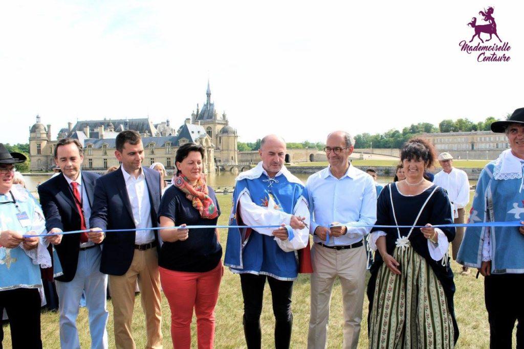 inauguration route d'artagnan chantilly